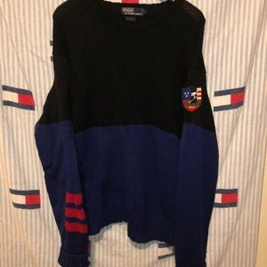 Vintage polo by Ralph Lauren skier patch sweater